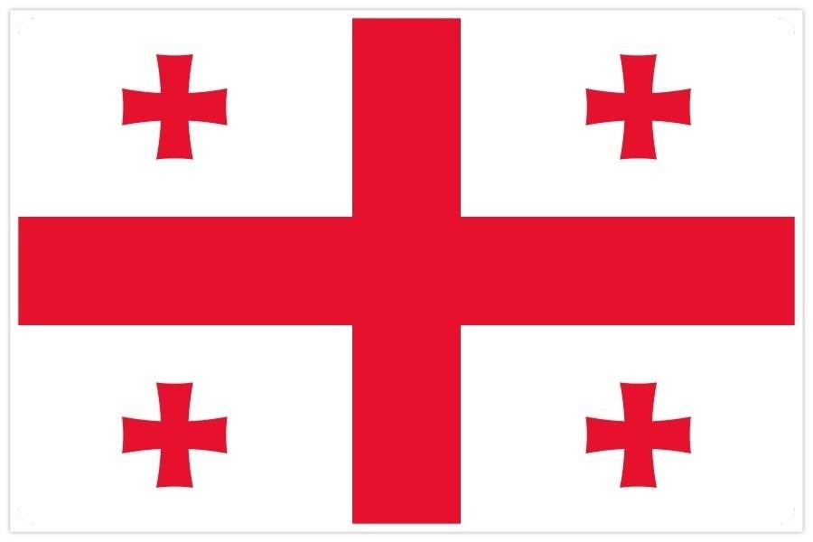 gruzinu karogs