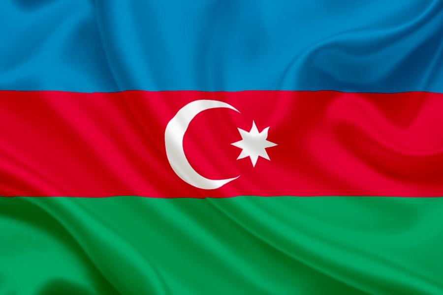 azerbaidzanu karogs